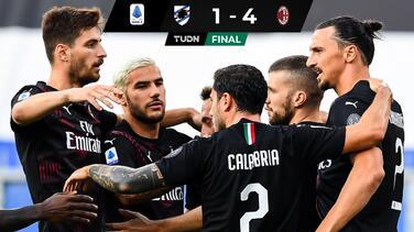 Doblete de Zlatan afianza la Europa League para el Milan
