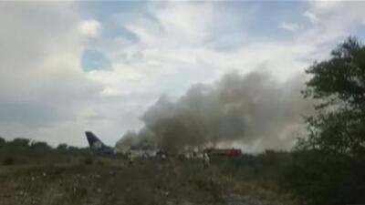 Recuento minuto a minuto del accidente del avión que se desplomó en Durango