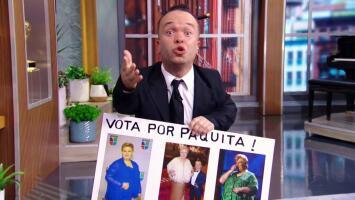 Mientras Paquita la del Barrio se lanza a la política, 'Carlitos' se declara su seguidor (y le pide trabajo)