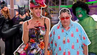 Los disfraces de Halloween más divertidos de El Gordo y La Flaca