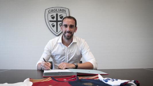 Diego Godín deja al Inter de Milán para fichar con Cagliari