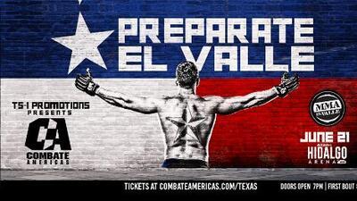 ¡Histórico! Combate Américas se presentará por primera vez en Hidalgo, Texas