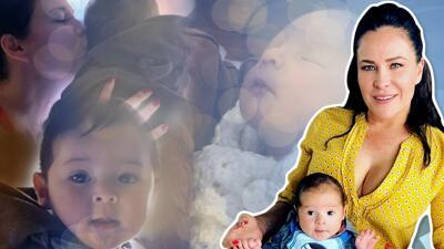 Arleth Terán mostró lo mucho que ha crecido su bebé
