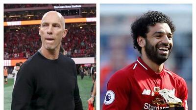 La influencia de Bob Bradley -entrenador de Carlos Vela en LAFC- en el desarrollo de Mohamed Salah