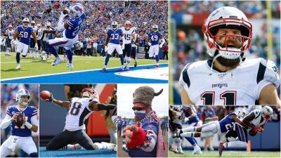 ¡Cardiaca victoria de los Patriots sobre los Bills!