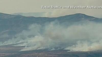 Emiten advertencia de contaminación por incendios