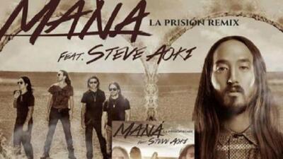 Colaboración de Maná con Steve Aoki causa revuelo en Twitter