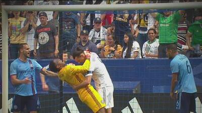 Zlatan Ibrahimovic, suspendido por dos partidos en la MLS
