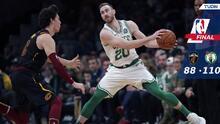 Boston triunfa sobre Cleveland en el regreso de Gordon Hayward