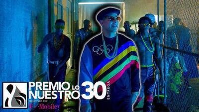 Presentación exclusiva: Daddy Yankee interpreta 'Dura' por primera vez en vivo en Premio Lo Nuestro