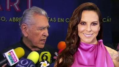 """""""No todo el mundo tiene que estar casado"""": padre de Kate del Castillo cree que su hija es feliz soltera"""