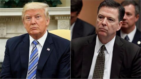 ¿Están investigando a Donald Trump por despedir a James Comey?