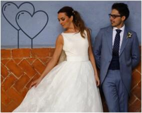 Bibi de la 'Familia P.Luche' se casó en una hermosa boda normal