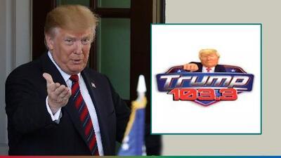 Llueven críticas a estación de radio ultraconservadora que tomó el nombre de 'Trump 103.3'