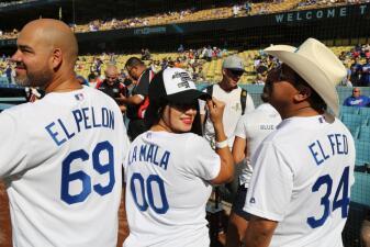 El Bueno, La Mala y El Feo se contagian de la fiebre de los Dodgers