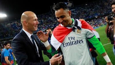 Keylor es el termómetro para saber si Zidane realmente mandará en el Real Madrid