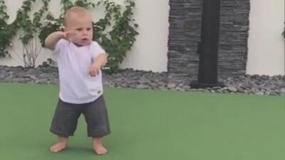 Lo más tierno que verás hoy: Enrique Iglesias comparte un video de su pequeño hijo bailando