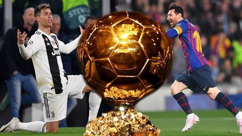 Con el fracaso de Cristiano en la Champions, ¿se llevaría Messi el Balón de Oro?