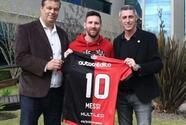 """Dirigente de Newell's sobre Messi: """"Si viene lo va a hacer con nuestra camiseta"""""""