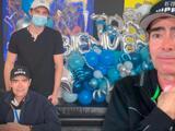 Toño Mauri regresa a México tras haber estado al borde de la muerte y lo reciben con globos