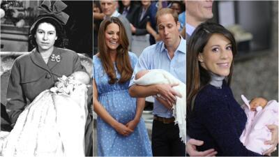 A falta de la primera foto del bebé de Meghan Markle, así presentaron a sus hijos otras duquesas, reinas y princesas
