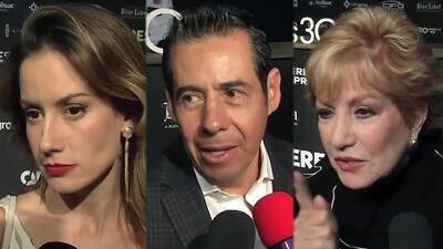 Los famosos no se quedaron callados ante la polémica por la supuesta boda de Yolanda Andrade con Verónica Castro
