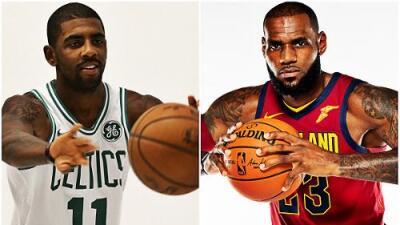 Cleveland y Boston de nuevo favoritos en el Este
