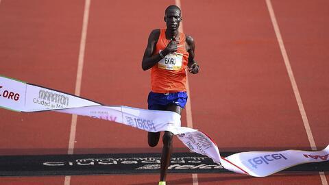 África domina el Maratón de la CDMX: Kenia en hombres y Etiopía en mujeres