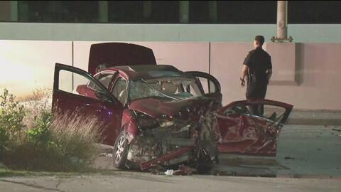 Dos personas resultaron gravemente heridas en un accidente automovilístico