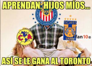Memes del juego de ida de Toronto FC contra Chivas en Liga de Campeones de Concacaf