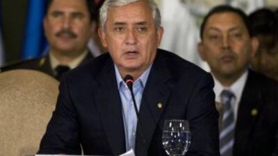 Otto Pérez tiene 76% de aprobación en Guatemala