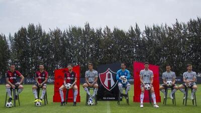 Atlas presentó a sus refuerzos para el Apertura 2018