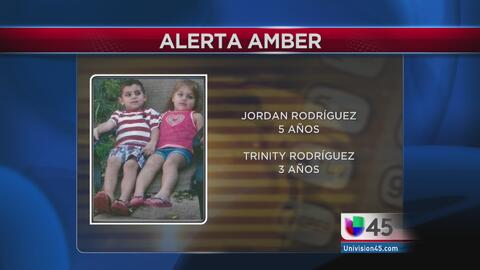Alerta Amber por menores desaparecidos