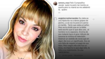 """Acusan a Jacqie Rivera de adulterio en Instagram, la llaman """"hipócrita"""" y ella responde"""