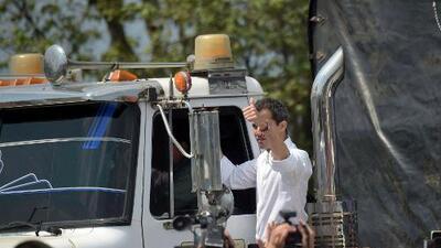 Guaidó pide más sanciones internacionales contra Maduro y vías de entrada de la ayuda humanitaria a Venezuela