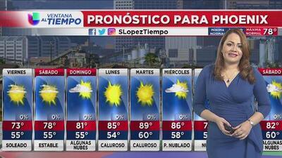 Se espera un viernes con condiciones soleadas y temperaturas agradables