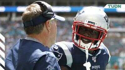 Los New England Patriots liberan a Antonio Brown