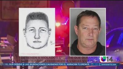 Pruebas de ADN determinantes para el arresto del violador serial del norte de CA
