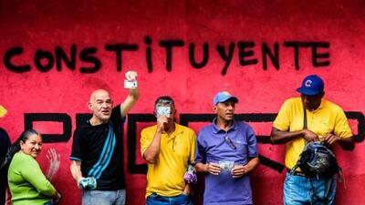 """Venezuela """"manipuló"""" el resultado de la votación sobre la Constituyente, según la compañía que realizó el conteo"""
