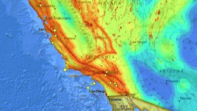 California registra 17 sismos en una semana por la actividad de varias fallas geológicas