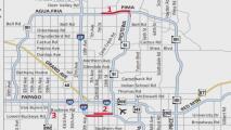 Anuncian el cierre de varias carreteras en el valle de Arizona este fin de semana