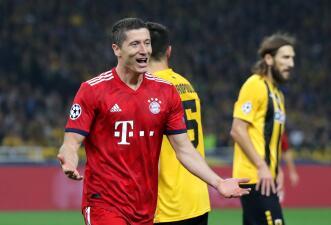 ¡Por fin apareció Lewandowski! El polaco selló el triunfo del Bayern Munich en Atenas
