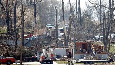 Tornados, tormentas y vientos afectaron al menos cinco estados de EEUU