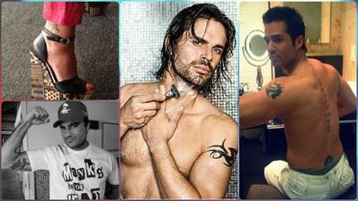 Conoce los tatuajes más escondidos de los famosos de telenovelas