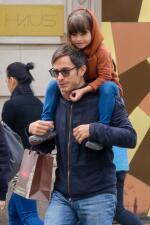 Gael García y su hija libertad de paseo en Nueva York