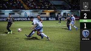 Independiente sorprende a Sporting KC en La Chorrera y lo vencen con un golazo