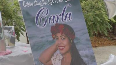 Familiares y amigos de Carla Stefaniak realizaron una vigilia para honrar su memoria