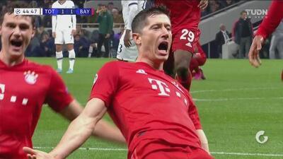 Estos son los dos goles con los que el Bayern Múnich remontó al Tottenham en el 1erT