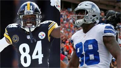 "Antonio Brown pide a Dez Bryant: ""Ven a jugar a Pittsburgh"""