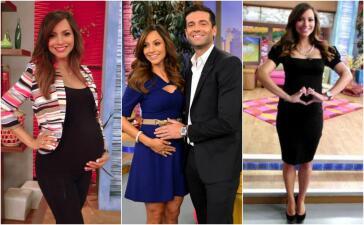 En fotos: Recordando el primer embarazo de Satcha Pretto